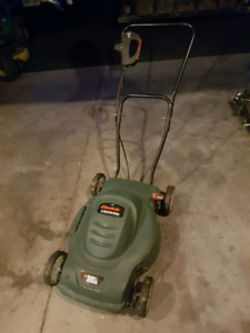 Black and Decker Electric Push Mower