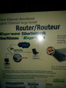 D-link dl-604 cable/Router, 4-port switch London Ontario image 4