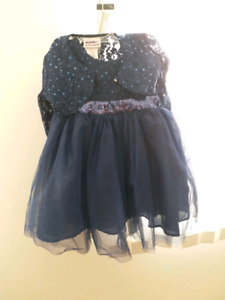 Toddler party wear dress 12-24-36 months