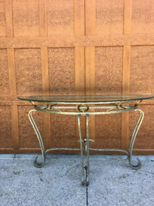 glass tables (set of 3)