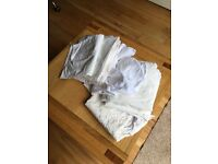 Freebie 10 white assorted pillow cases