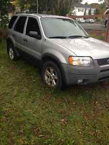 2003 Ford Escape XLT SUV, Crossover