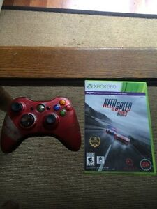 NFS: Rivals - Xbox 360 game + Collectors edition T.R controller