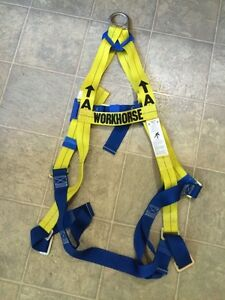 Workhorse Fall Arrest Harness, by McCordick NEVER USED $40 OBO.