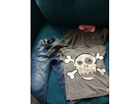 Boys age 3-4 bundle from next: jeans, t shirt & jumper