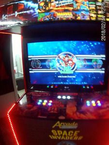 ARCADE MACHINE PROMOTION ONLY ONE 1100 $ 6500 GAMES+21 CLASSIC