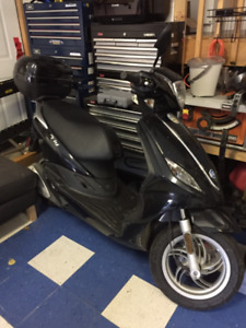 Black Fly Scooter