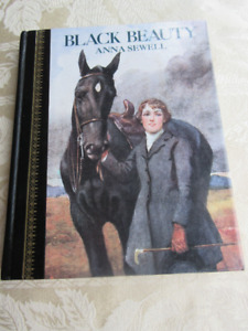 BLACK BEAUTY ANNA SEWELL ILLUSTRATED LUCY KEMP-WELCH 1986ed