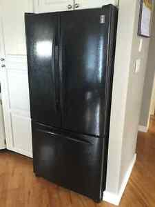 Black French Door GE Profile Fridge