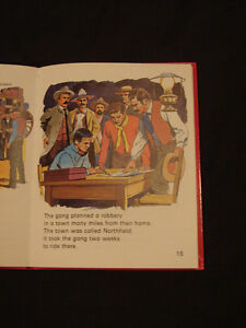 JESSE JAMES THE OUTLAW very Rare childrens Hardcover collectible Belleville Belleville Area image 4