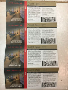 Air Canada Maple Leaf Lounge Tickets
