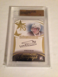 14/15 ITG Ultimate Gold Autograph Spencer Watson 2/5