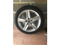 Honda Civic wheel and tyre 225/45/17
