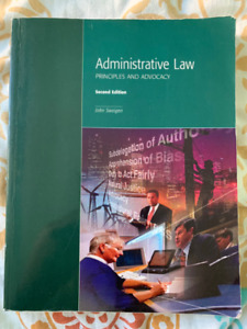 Administrative Law PRINCIPLES AND ADVOCACY