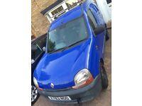 Renault kangoo van. Spares or repair.
