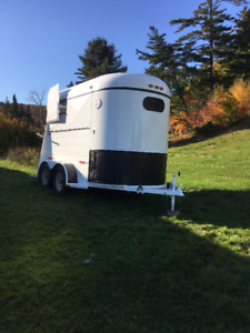 Extra tall 2 horse trailer