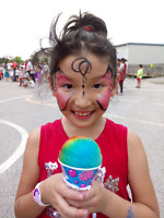 Face painting for events (Happy Canada's 150!)