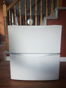 Laundry Pedestal for Washer and Dryer