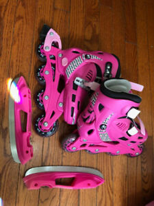 Switchable roller blade to skate j12-2