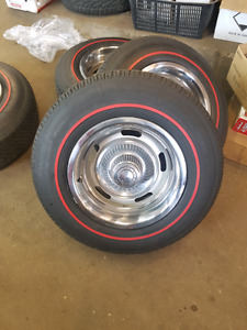 GM ralley wheels with redline tires