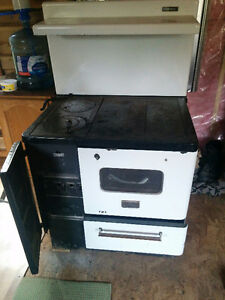 wood stove ranch antique