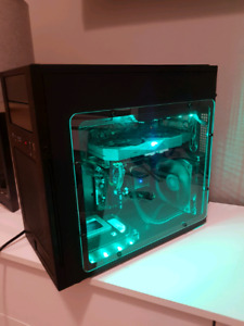 RGB Gaming PC i5 6600, Asus Strix Rx470, 256gb ssd, 2tb HDD