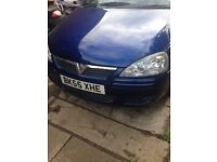 Corsa 1.2 cheap low mileage 55 reg