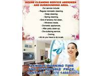 House Cleaning Service and Ironing Service - Aberdeen Inverurie Stonehaven Peterculter and around.