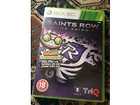 X box 360 game saints row