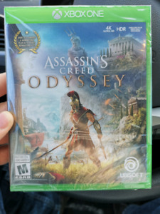 Un opened Assassin's Creed Odyssey