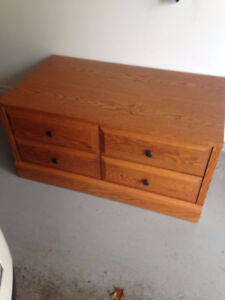 Tv Stand / Chest with wheels