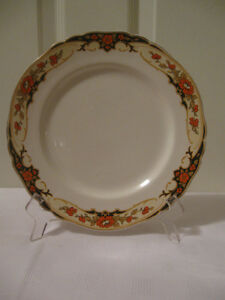 CHARMING OLD VINTAGE [1933] ALFRED MEAKIN 9-IN.PLATE..[DUNKIRK]