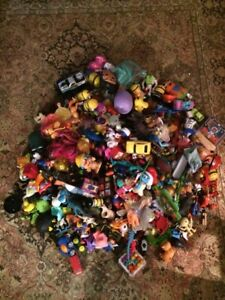 Huge toy lot! 2 box's of Fun. Random clean toys:)