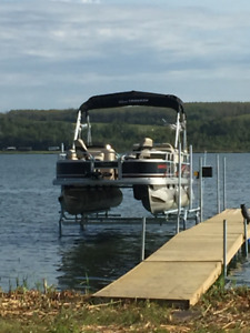 BRAND NEW HEAVY DUTY BOAT AND PONTOON LIFTS