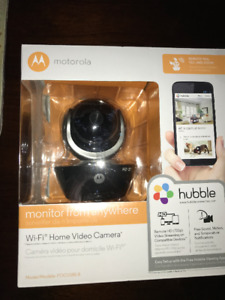 Motorola Wifi Home Monitoring Camera
