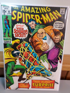 The amazing spiderman 85 mid to high grade
