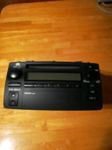 Totota corolla CD player