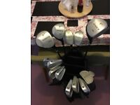Petron Golf Clubs with bag