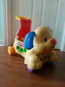 Fisher Price Ride On Musical Dog