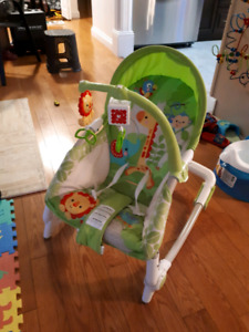 Rocky chair with vibration option in excellent condition