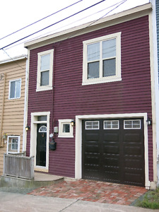 One of a kind townhouse, downtown St. John's