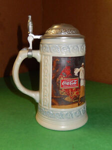 1993-Coca-Cola-Collectible-Stein-Produced-In-Germany