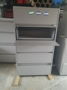 FOR SALE;  2, 3 and 5 drawer commercial lateral file cabinets