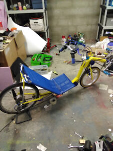 Lowracer recumbent bike