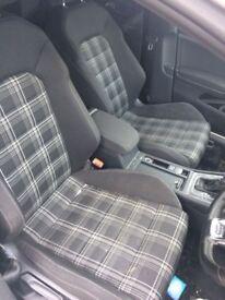 VW Golf mk7 GTD Interior Tartan Seats Complete - Caddy