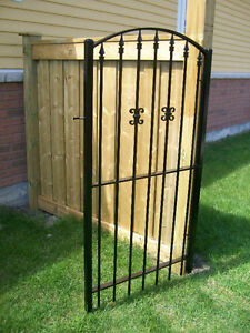Backyard Iron Gates