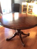 Bombay Co solid wood table