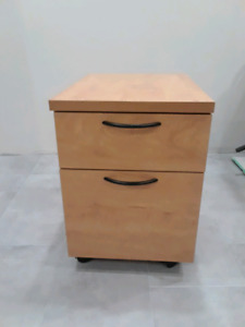 Mobile file cabinet with casters for sale $70