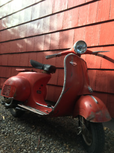 Wanted: Old motor scooter