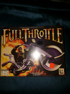 Limited edition Full Throttle pc game